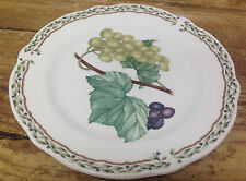 Noritake Royal Orchard Fruit 1 Bread Butter Plate Vines Primachina Green Grapes