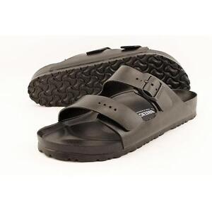 df9b0113c1d1 Birkenstock Arizona Eva Sandals 0129421b Black Buckle Strap Waterproof  Slide Men Blacks 10