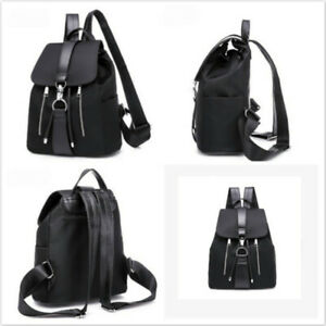 Women-039-s-Faux-Leather-Backpack-Anti-Theft-Rucksack-School-Shoulder-Bag-Satchel-S