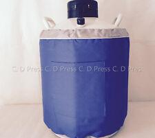 New 30l Liquid Nitrogen Tank Cryogenic Container Ln2 Dewar6pcs Pailslock Cover