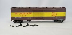HO-Scale-034-The-Milwaukee-Road-MILW-2144-50-Freight-Train-Box-Car