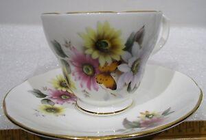 Duchess-Bone-China-lt-gt-England-lt-gt-Tea-Cup-amp-Saucer