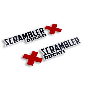 DUCATI SCRAMBLER URBAN ENDURO TANK LOGO DECALS 97480121a