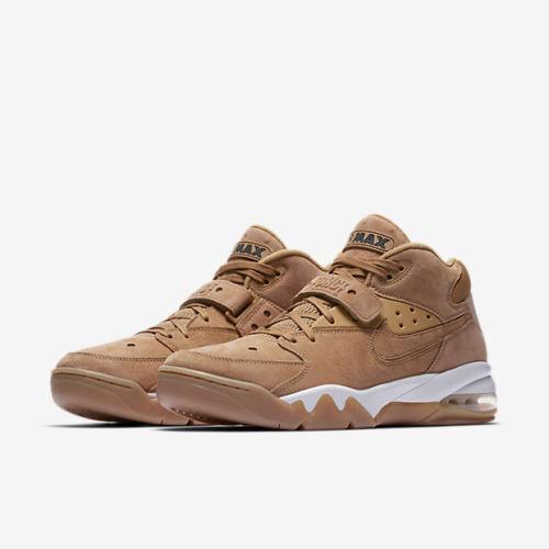 NIKE AIR FORCE MAX PREMIUM MEN'S SHOES FLAX PHANTOM 315065 200 Wild casual shoes