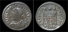 Constantinus II silvered AE3 campgate