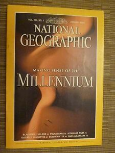 National Geographic  MAKING SENSE OF THE MILLENNIUM  JANUARY 1998 - <span itemprop=availableAtOrFrom>London, United Kingdom</span> - Returns accepted Most purchases from business sellers are protected by the Consumer Contract Regulations 2013 which give you the right to cancel the purchase within 14 days after the day y - London, United Kingdom