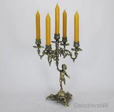 Kerzenleuchter 5-Armig Kerzenständer Tischleuchter Jugendstil Antik Barock Putto