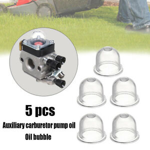 5PCS-Primer-Bulb-Cup-Fuel-Pump-Carburettor-Whipper-Chainsaw-Easy-installation
