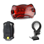 5LED Lamp Bike Bicycle Front Head Light Rear Safety Flashlight Waterproof Set US