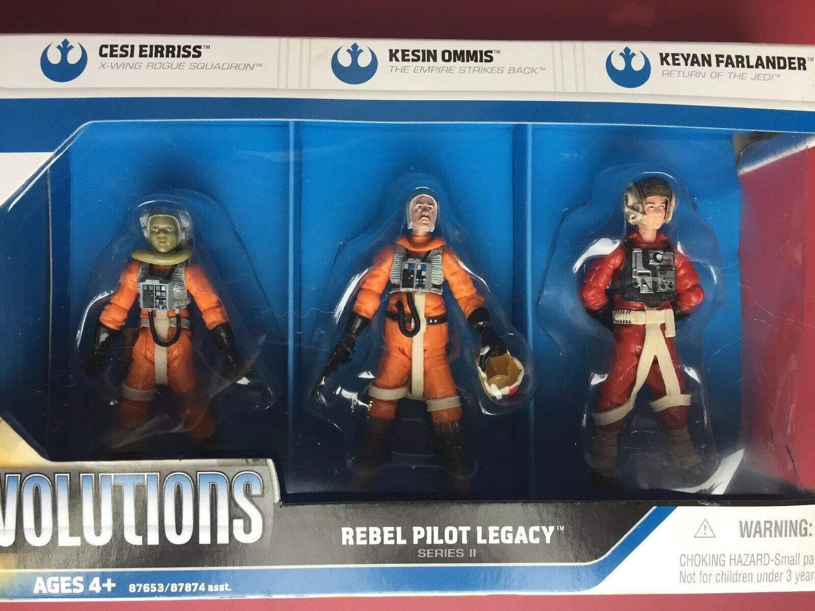 Estrella Wars evoluciones Rebel Piloto legado Cesi Eirriss Kesin Ommis Keyan Farlander