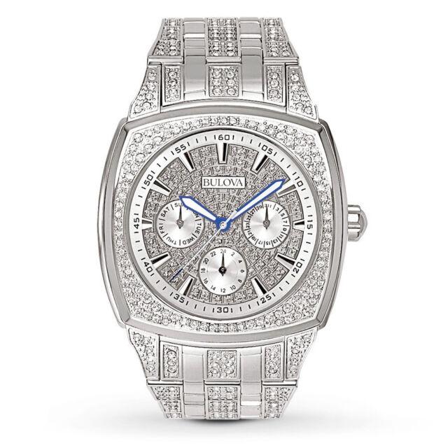 Bulova Day-Date 96C002 Wrist Watch for Men