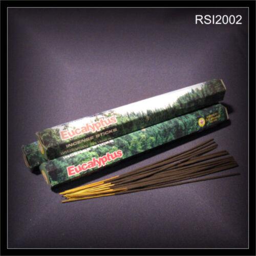 15 Räucherstäbchen aus INDIEN tolles Aroma Yoga Feng Shui EUCALYPTUS RSI2002
