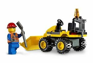 Lego 7246 city construction mini digger navvy complete ...