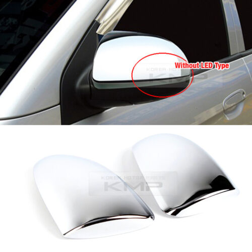 Chrome Side Mirror Cover Garnish Molding For KIA 08 09 10 Picanto //Morning