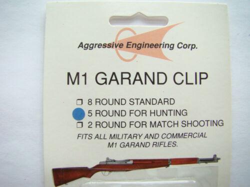 M1 Garand 5 Round Hunting Clip 2 pack NEW