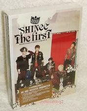 SHINee The First Taiwan Ltd CD+DVD+68P booklet+2012-year Desk Calendar