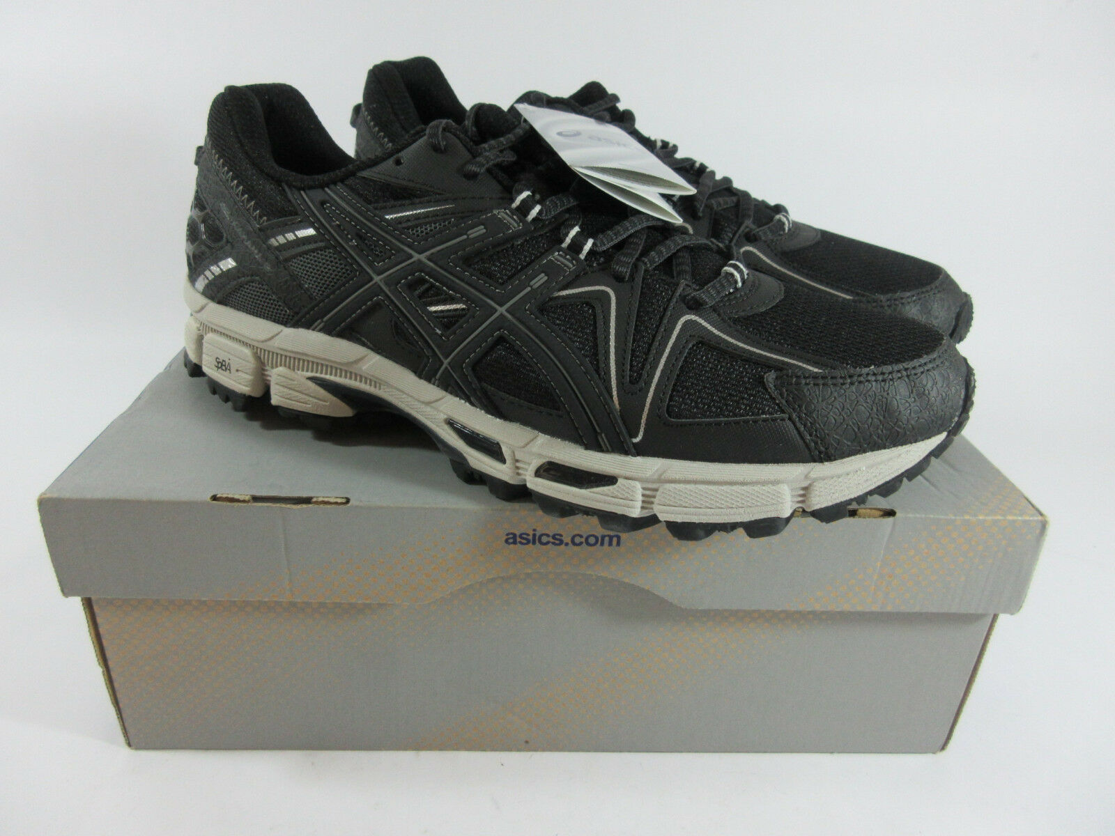 Asics Gel-Kahana 8 Running shoes Black Onyx Silver Mens Size 11