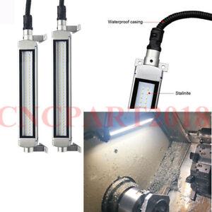 Details About Cnc Machine Led Work Lamp 10w Waterproof L380mm 24 36v Milling Lighting 6000k