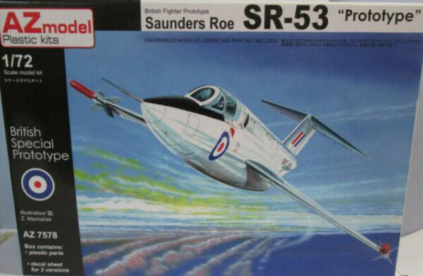 AZ Models 1//72 SAUNDERS ROE SR-53 F Mk.1 ROCKETEER British Jet Fighter