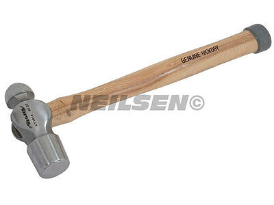 Forged Steel Metal Punching Riveting 1.13Kg Hickory Ball Pein Hammer 40Oz