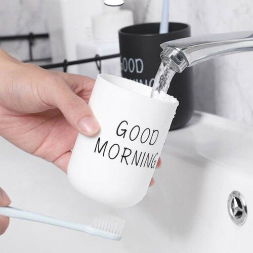 Portable Plastic Simple Nordic Mouthwash Toothbrush Holder Washing Cup Non-slip
