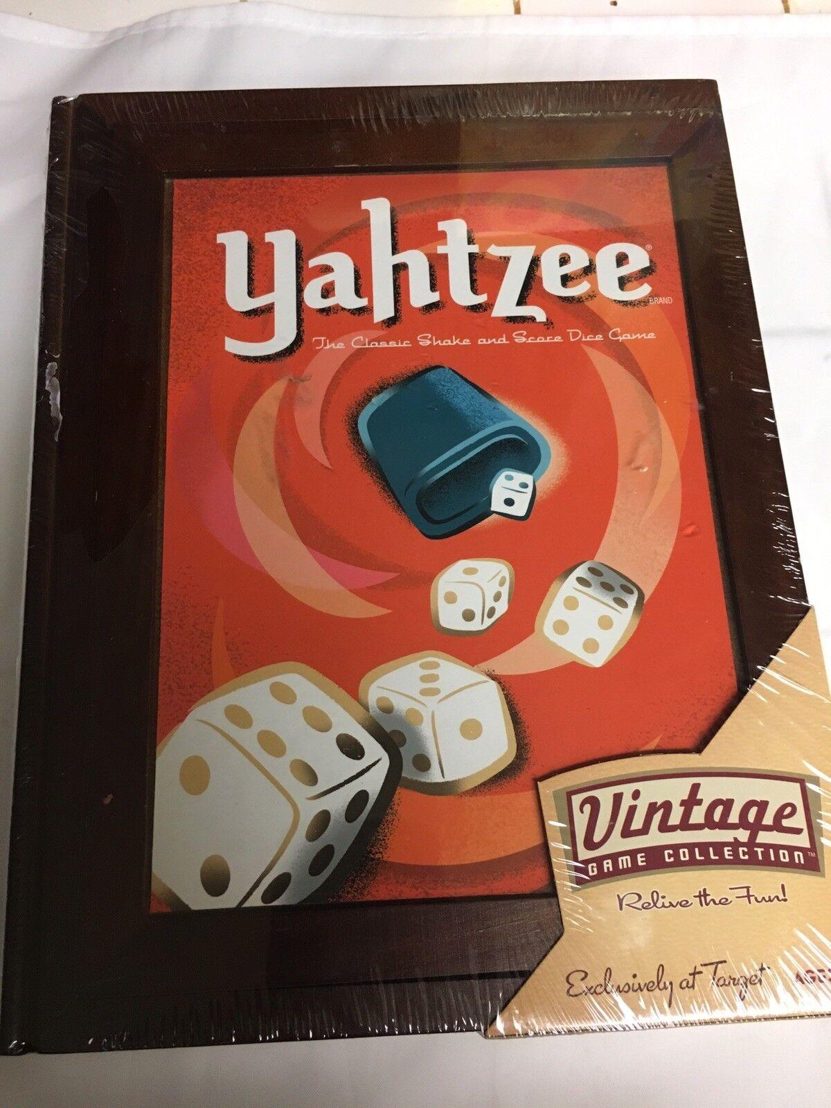 Libro De La Biblioteca De Colección De Juego Antiguo Yahtzee