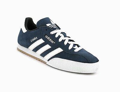 En general madre En el nombre  adidas Samba Super Suede Mens UK 11 EU 46 Navy Indoor Football Trainers  019332 for sale online   eBay