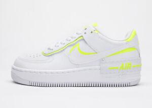 Nike Air Force 1 Shadow Wmns White Volt Ci0919 104 Womens