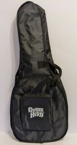 RedOctane Guitar Hero Carry Case/Gig Bag - Black w/ Zipper - No Shoulder Strap