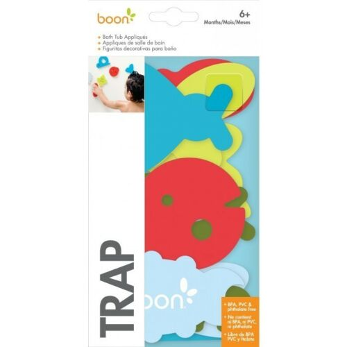 Boon Bath Tub Appliques Baby Bathtime Toys 3 Options Dive Trap Trace BPA Free