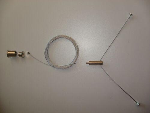 Économies 2 pièces montage rapide seilabhängung seilpendel aussi pour pendule Luminaires
