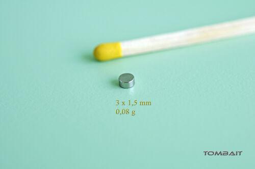 Neodym Mini Magnet 4x1mm 10 Stück Super Magnete NEU!!