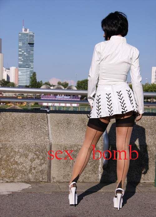 SEXY Sandale 15 CINTURINO bianco plateau tacco 15 Sandale dal 35 al 44 fashion GLAMOUR 5cccb4