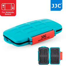 JJC Hard Memory Card Case Storage for Nintendo Switch Game Card*8+MicroSD Card*8