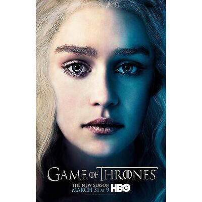 Game Of Thrones poster - Emilia Clarke poster (b) : 11 x 17 inches