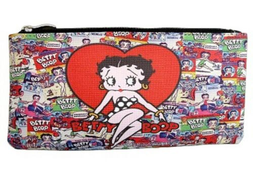 BETTY BOOP MAKE UP BAG MULTI POSES DESIGN #2 PLUS MATCHING COIN PURSE