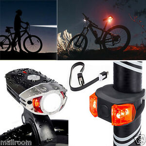 led fahrradbeleuchtung set fahrradlampe leuchte beleuchtung reflektor hinten ebay. Black Bedroom Furniture Sets. Home Design Ideas