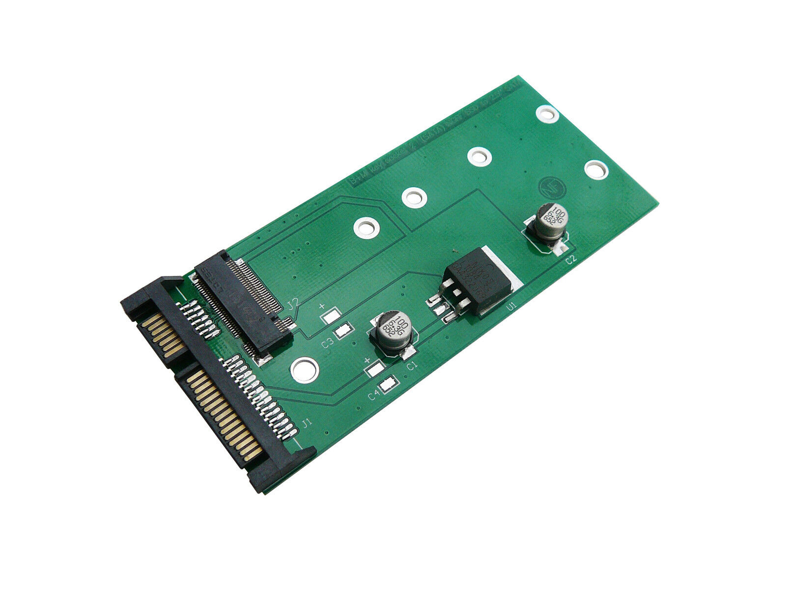 Adapter M2 ( Ngff ) For SATA 3 For SSD Of Type M.2 Intel Sandisk Micron Short