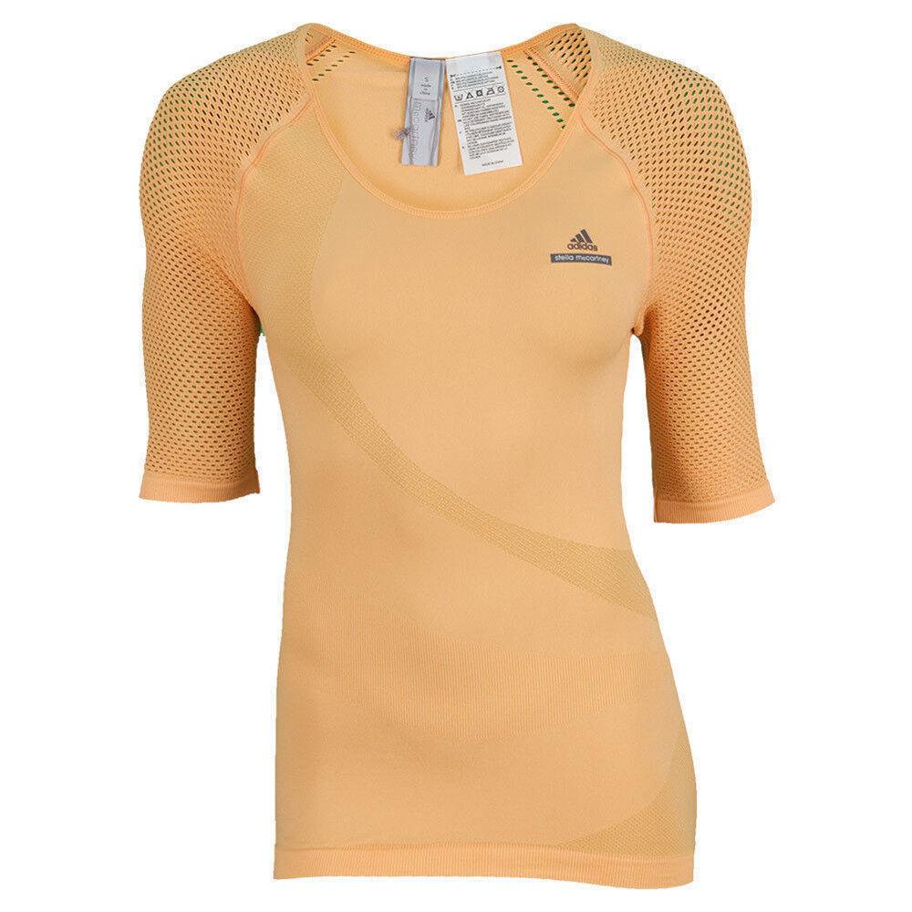 Adidas by Stella McCartney aSMC Tea Wim Ladies Tennis Tank  Top T-Shirt orange  brand