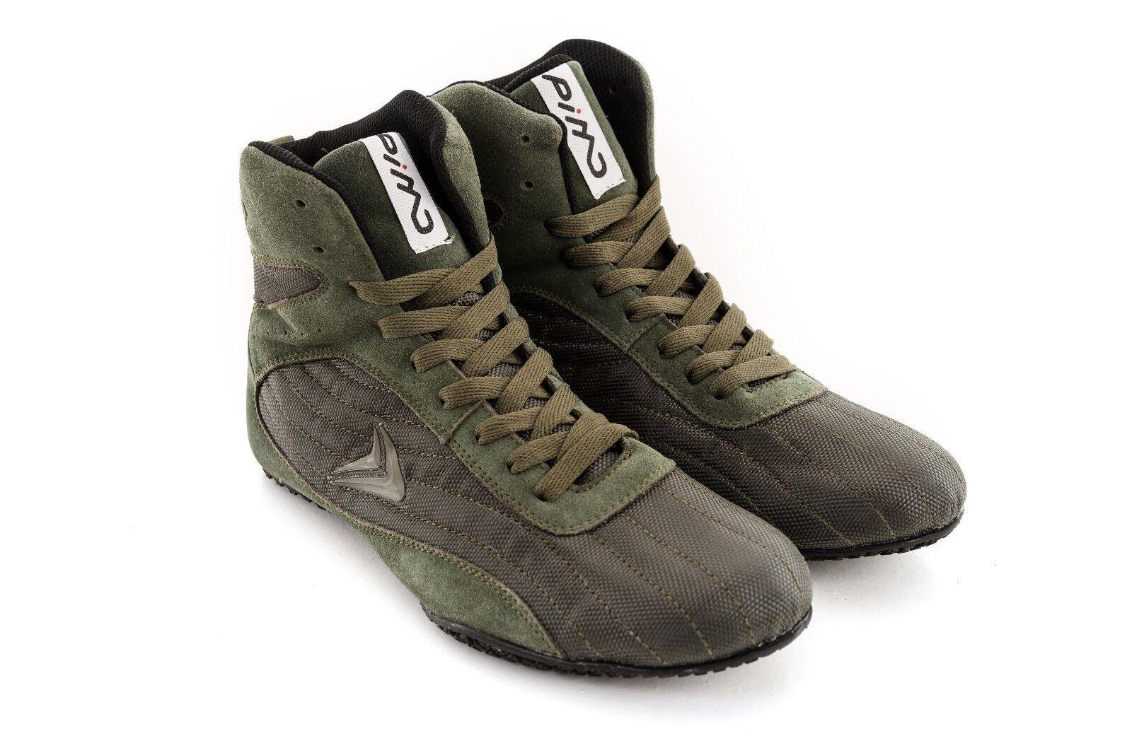 PIMD Khaki Khaki Khaki X-CORE V2 Scarpe Da Ginnastica Stivali alti Formazione Top Bodybuilding Boxe MMA 19a3b8