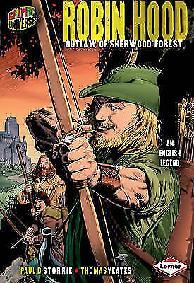 Robin Hood: Outlaw of Sherwood Forest (Graphic Myths and Legends)-ExLibrary