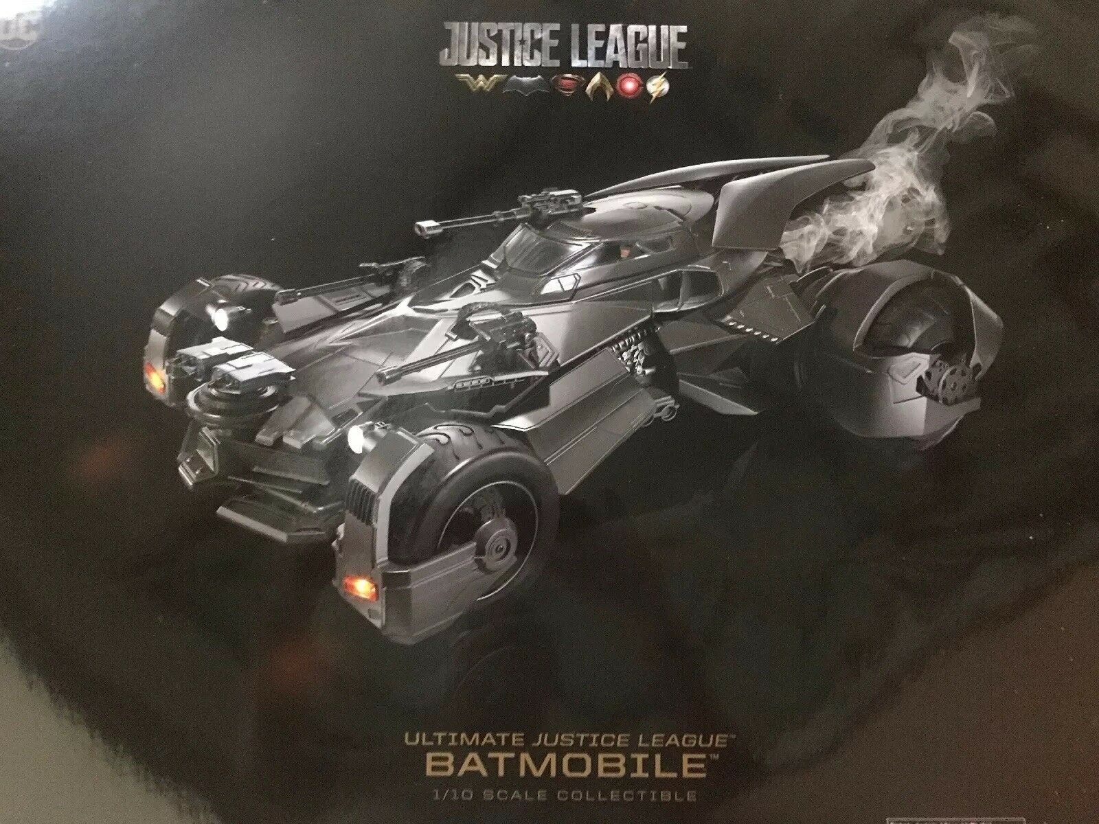 NIB- Ultimate Justice League Batmobile 1 10 Scale Collectible DC