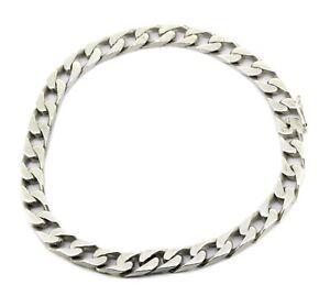 aelteres-Flachpanzer-Armband-925er-Silber-6mm-breit