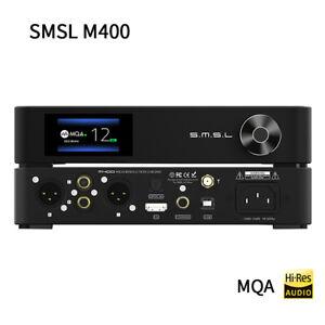 SMSL M400 MQA DAC AK4499 XU216 Full Balanced Bluetooth 5.0 USB AptX-HD Decoder