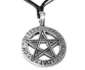 Tetragrammaton pentagram pentacle pendant pagan occult necklace image is loading tetragrammaton pentagram pentacle pendant pagan occult necklace aloadofball Choice Image