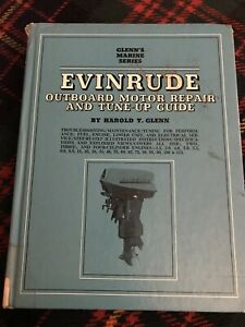 Glenn's Marine Series Evinrude Outboard repair tune up guide 1969 All engines