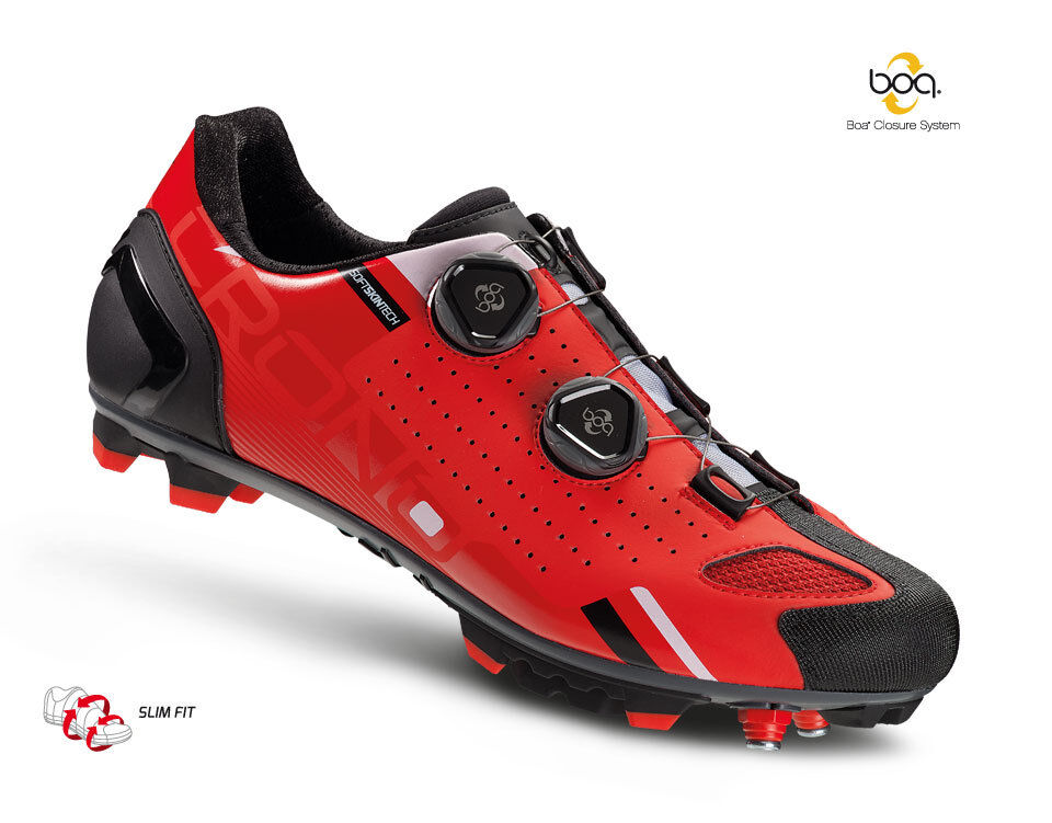 Zapatillas MTB Crono Cx2 Nailon Rojo   zapatos Crono Cx2 rojo Nailon