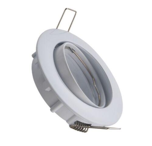 DCRS fournit avec douilles Spot encastrable rond blanc GU10 orientable