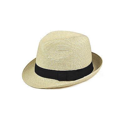 Cappello di feltro cappello di paglia - Panama stile Tascabile sgualcibile AB