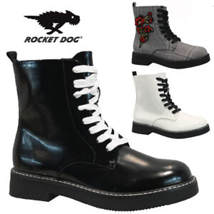 ROCKET-DOG-LADIES-DOC-PUNK-GOTH-ARMY-WINTER-WARM-WALKING-HIKING-ANKLE-BOOTS-SIZE